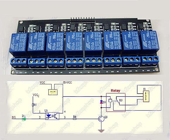8 relay module wiring diagram